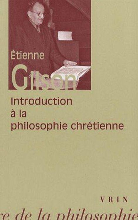 Introduction à la philosophie chrétienne