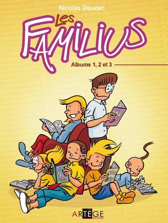 Les Familius - Coffret Volume 1, 2 et 3 + poster 44 x 58
