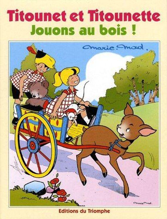 Titounet et Titounette 25 - Jouons au bois !
