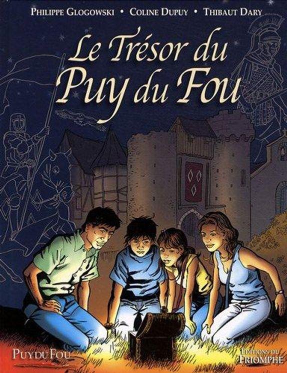 Le Trésor du Puy du Fou - tome 1 BD