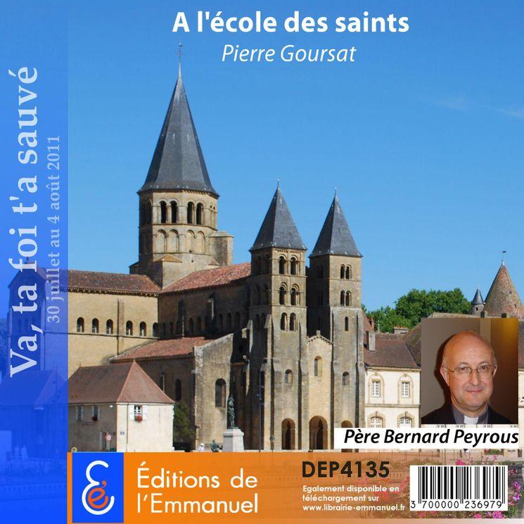 Pierre Goursat - A l'école des saints
