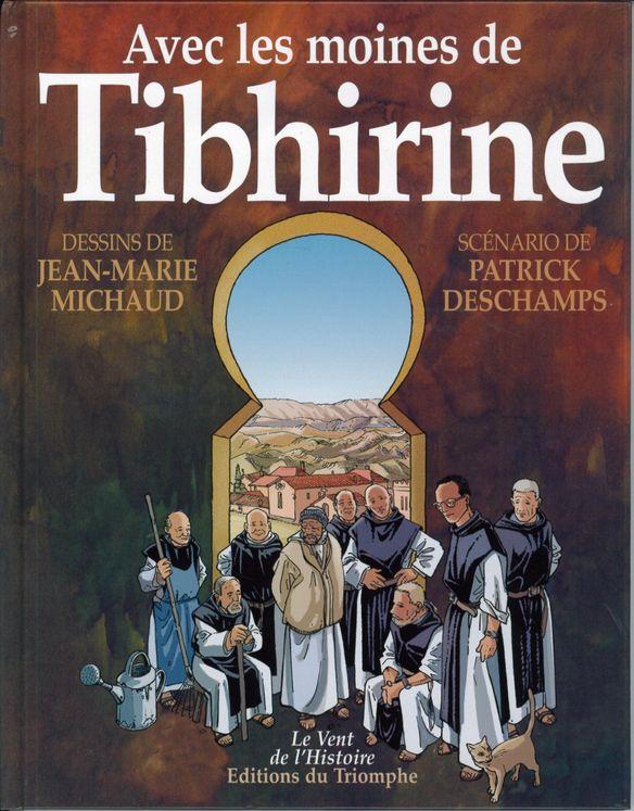 Avec les moines de Tibhirine - BD