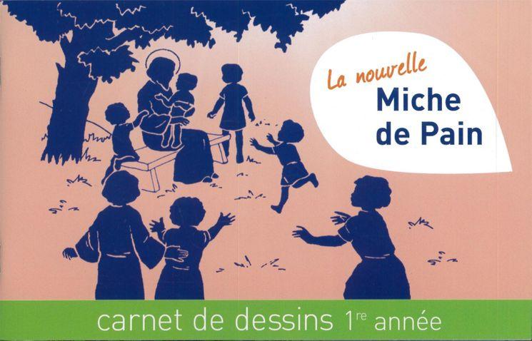La nouvelle miche de pain - Carnet de dessins 1ère année