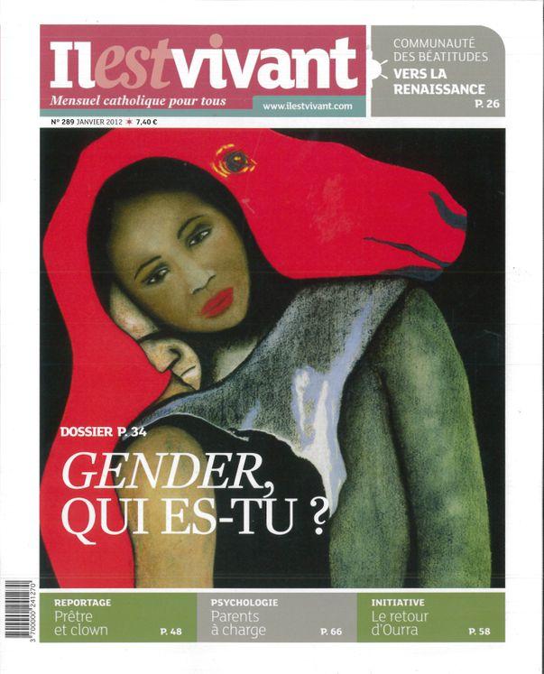 n°289 - Il est vivant Nouvelle formule - Janvier 2012 - Gender, qui es-tu?