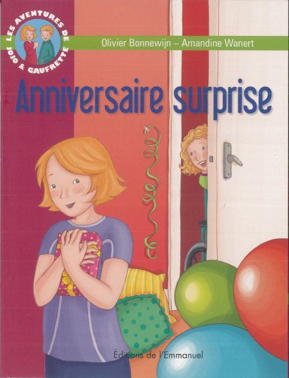 Les aventures de Jojo et Gaufrette, Tome 12 - Anniversaire surprise