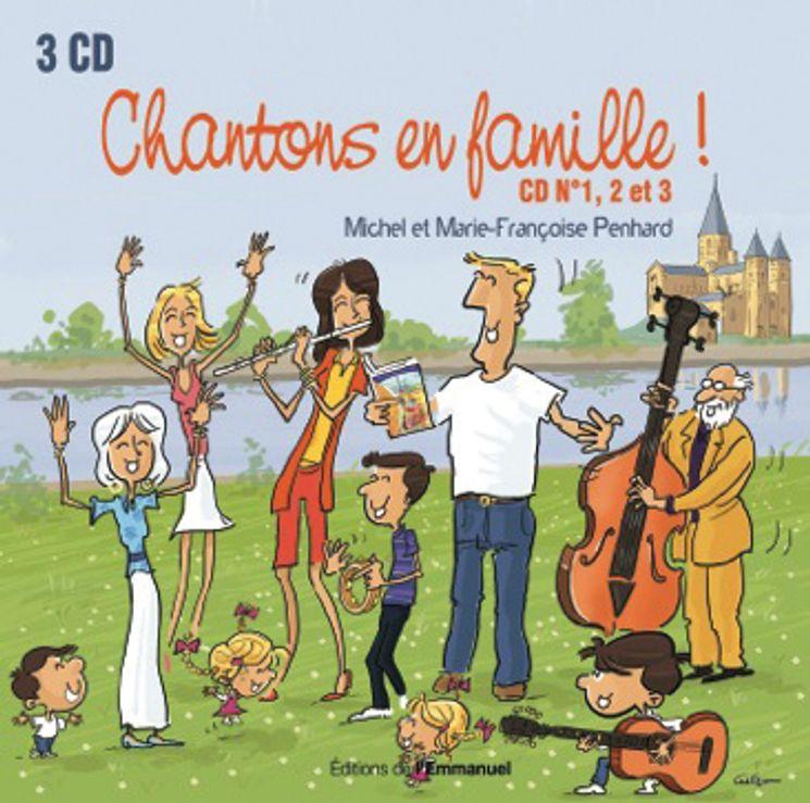 Coffret 3 CD Chantons en famille