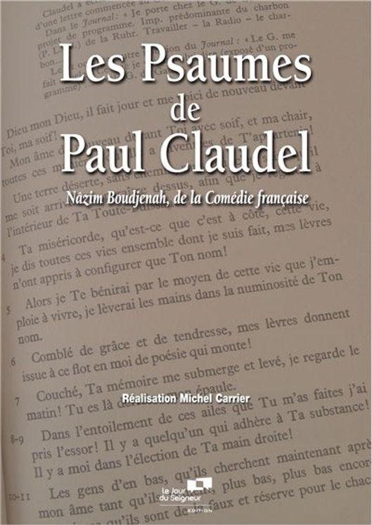 Les psaumes de Paul Claudel DVD