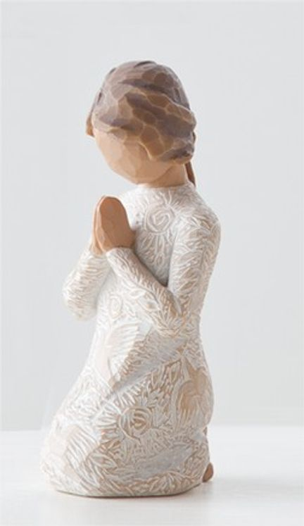 "Statuette ""Prayer of Peace"" Willow Tree"