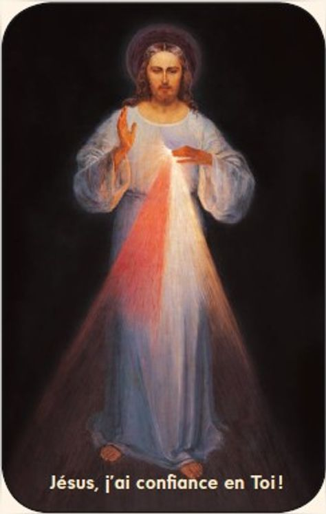 Paquet de 50 Cartes - Prière - CB1247 - Jésus Miséricordieux