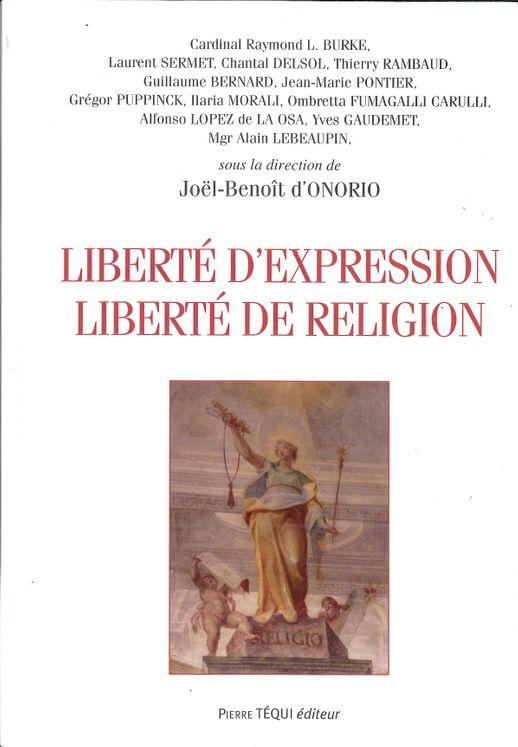 Liberté d´expression - Liberté de religion