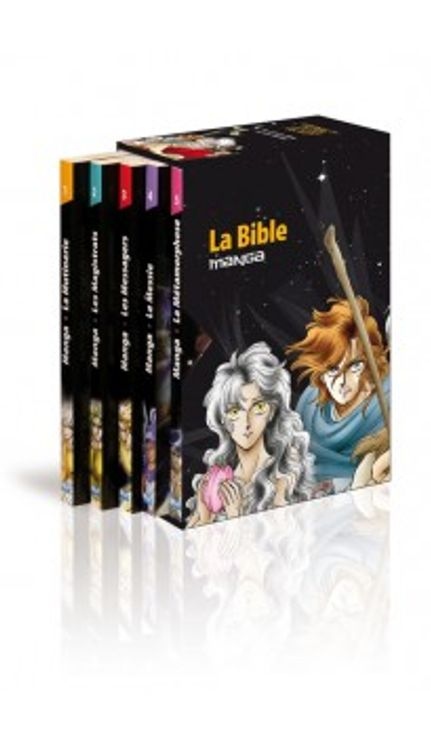Manga - La Bible - Coffret 5 volumes