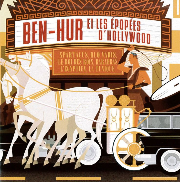 Ben-Hur et les épopées d'Hollywood - Bande originale du Film - CD
