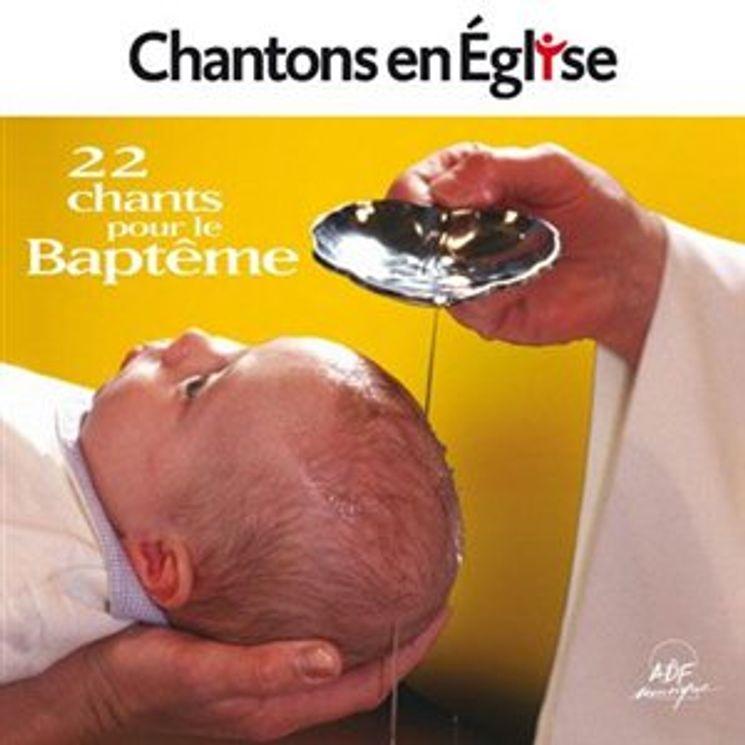 Chantons en Eglise - 20 chants pour le Baptême