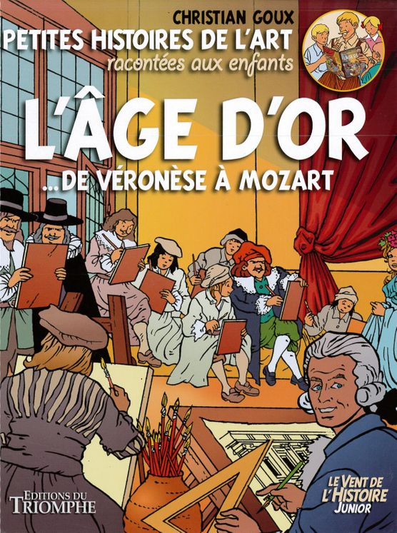 L´Age d´or  de Véronèse à Mozart BD