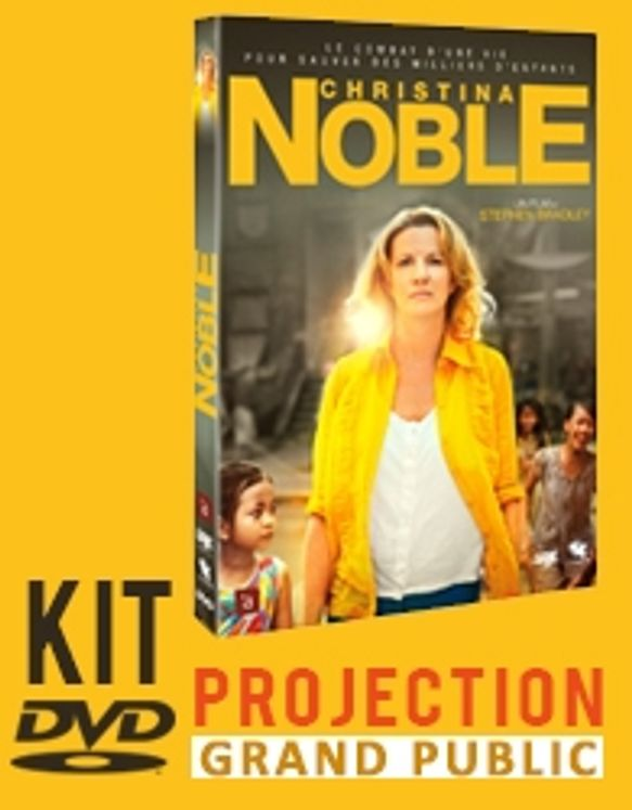 Christina Noble - DVD et licence de projection grand public