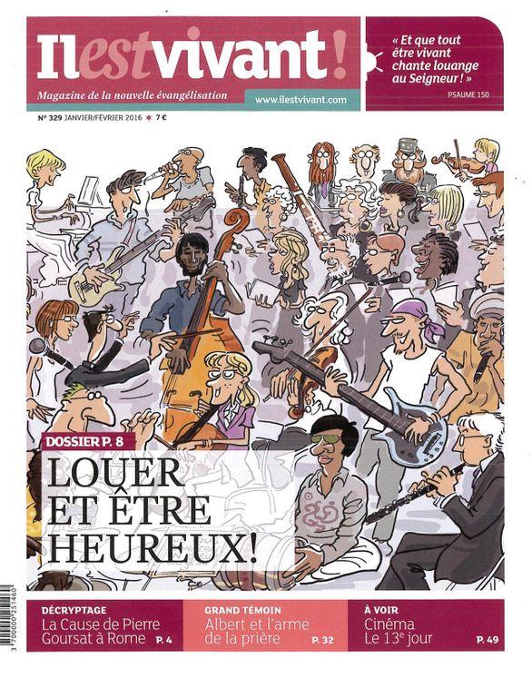 Pack de 50 ex N°329 - Louer et être heureux ! - Janvier / Février 2016
