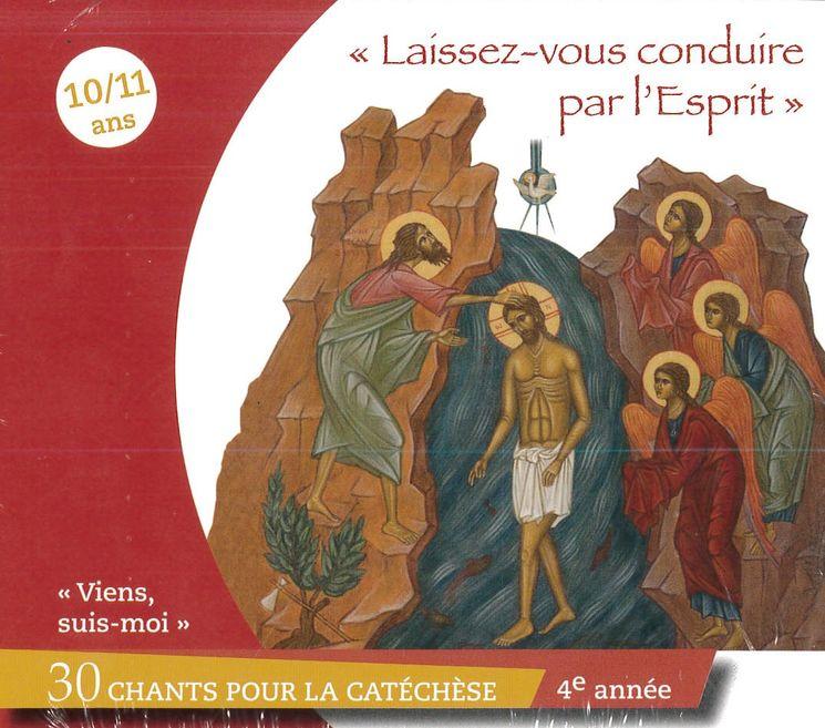 """Viens, Suis-Moi - 4e année """"Laissez-vous conduire par l'Esprit"""" - CD"""