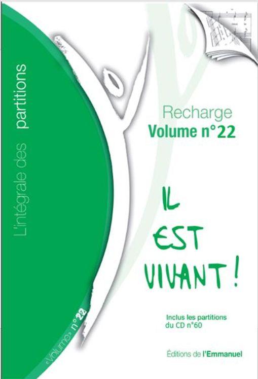 """Recharge de partitions N°22 pour classeur """"L´intégrale"""" - 2016"""