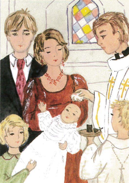 Image Baptême Famille