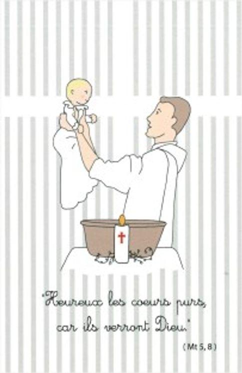 Images de baptême Tante Menoue n°1, 9 visuels variés