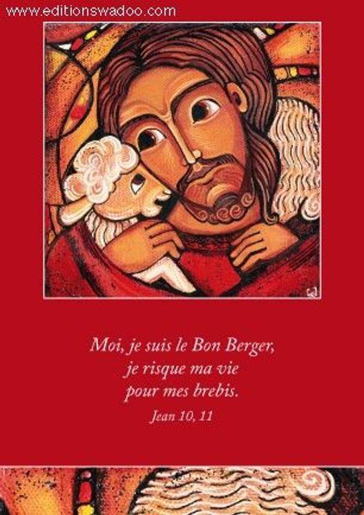 """Carte Vénière  """"Le Bon Berger"""""""