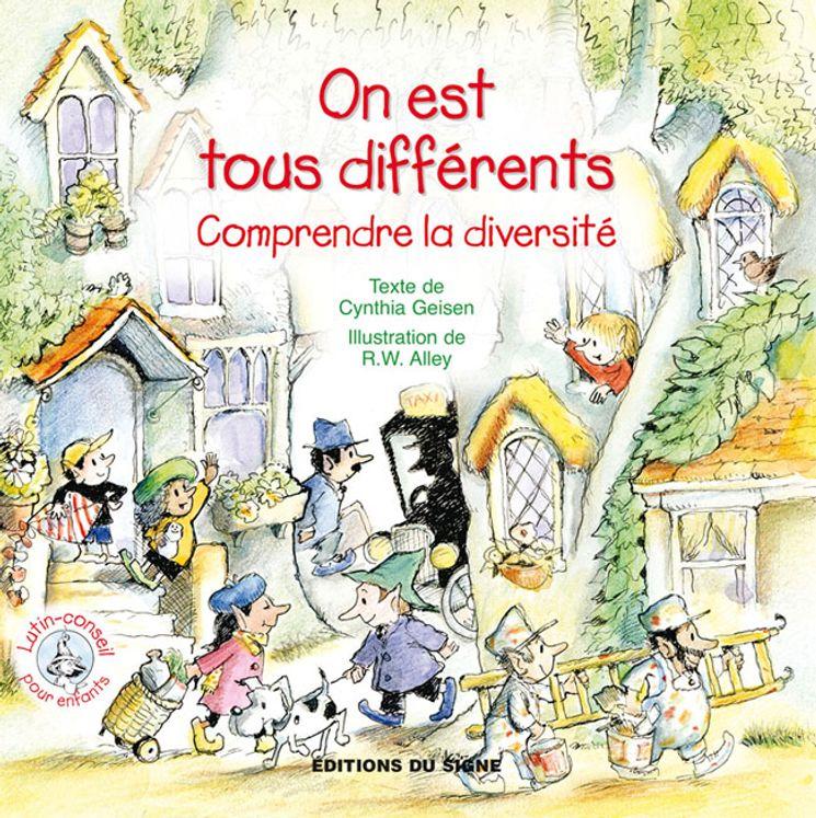 Comprendre la diversité - On est tous différents - Lutin conseil