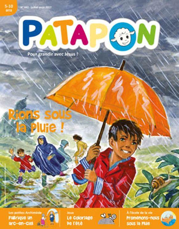 Patapon Juillet/août 2017 N°442 - Rions sous la pluie !