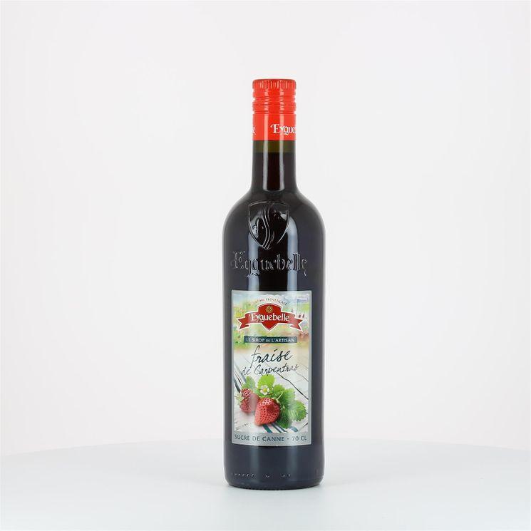 Sirop de fraise de Carpentras intense en parfums et en arômes