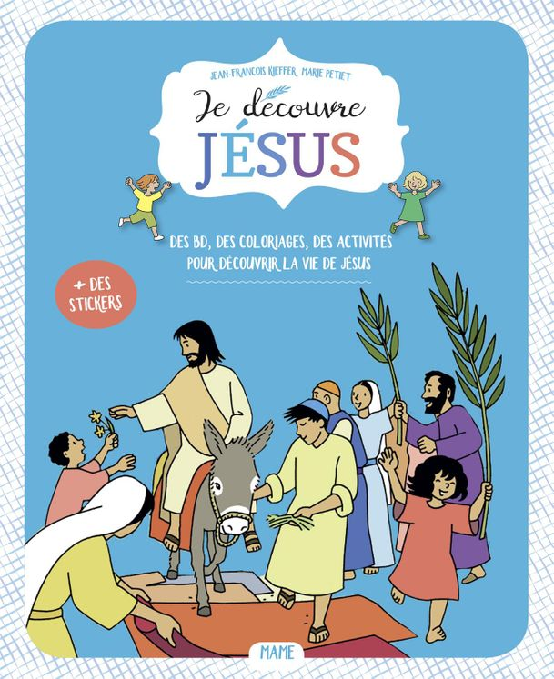 Je découvre Jésus - Livret enfant - 6-7 ans