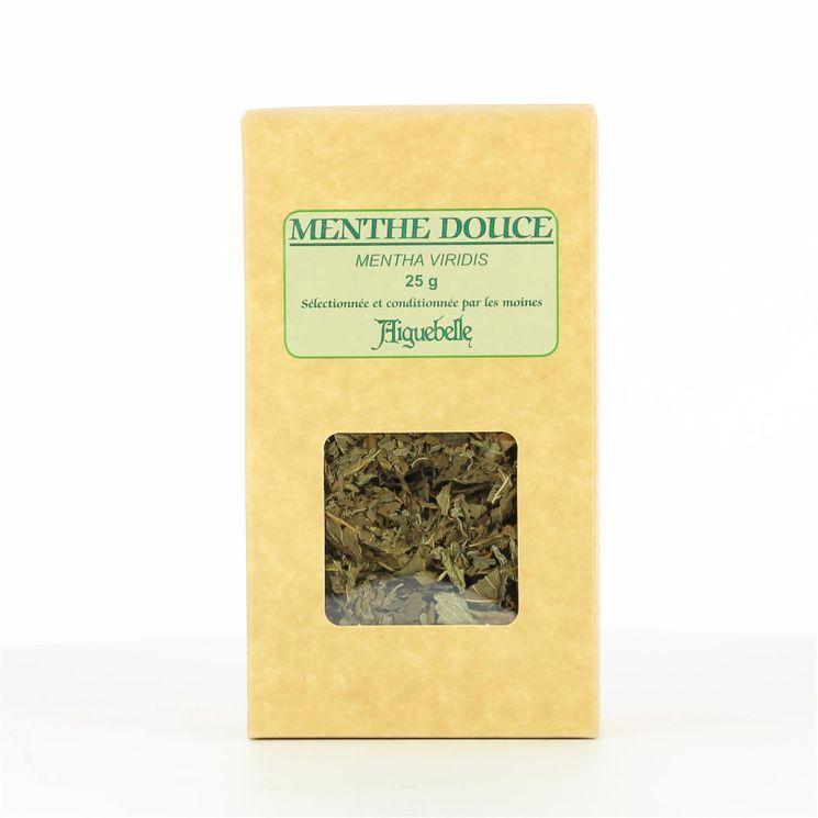 Tisane Menthe douce - Etui kraft 25 gr