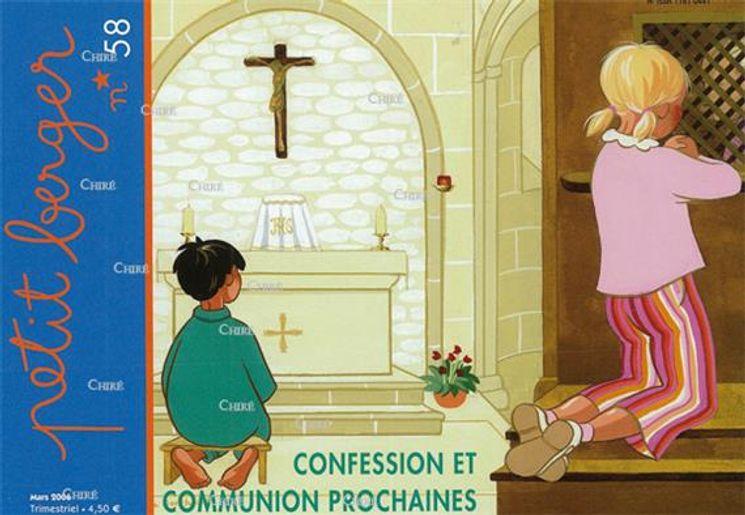 Confession et communion prochaine - Petit Berger