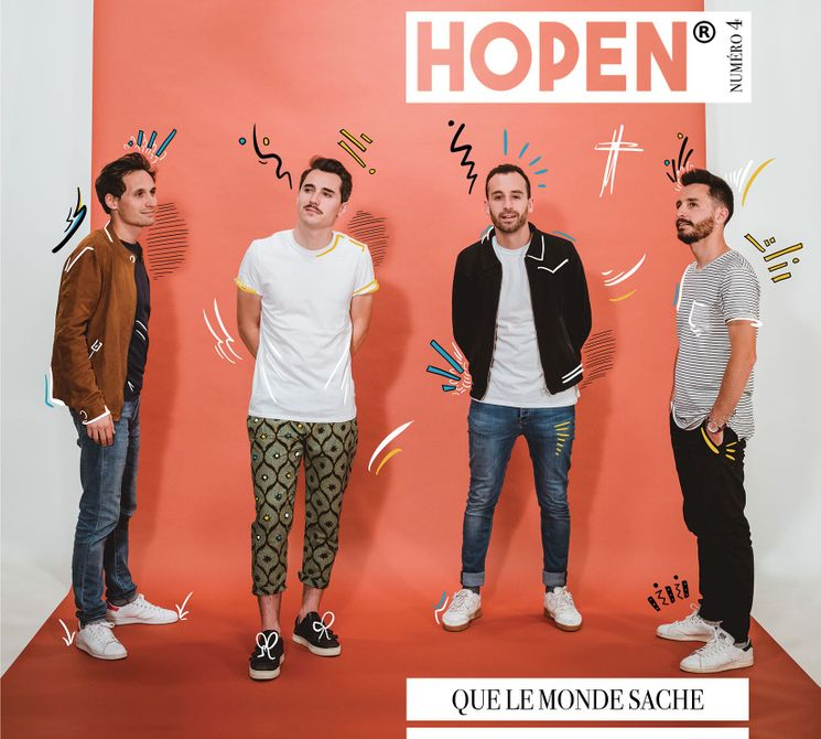 Hopen 4 ème album - Que le monde sache - CD