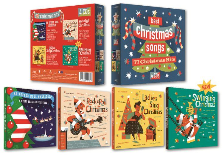 Christmas Songs - Coffret 4 CD