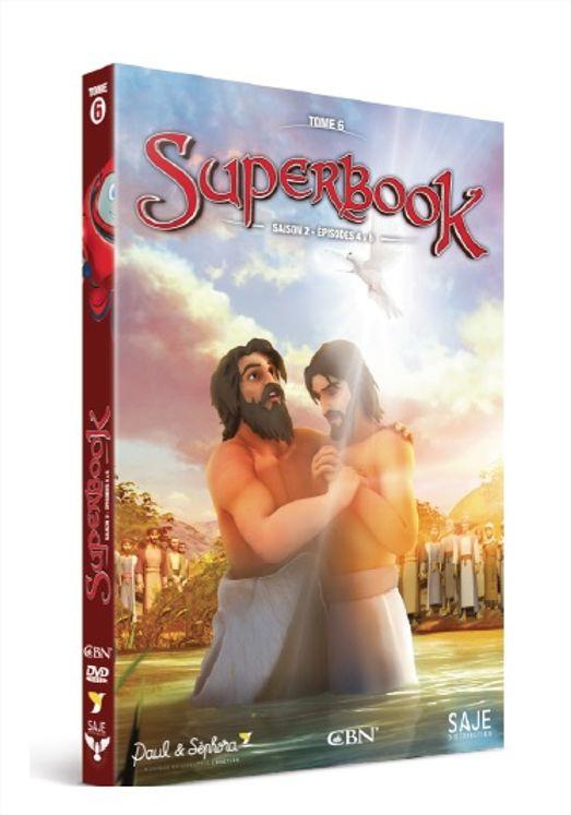 Superbook tome 6, saison 2 épisodes 4 à 6 - DVD