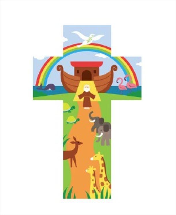 Croix de l´Arche de Noé 20 cm