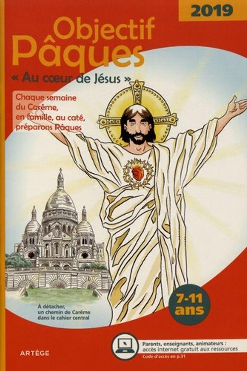 Objectif paques 2019 - au coeur de jesus