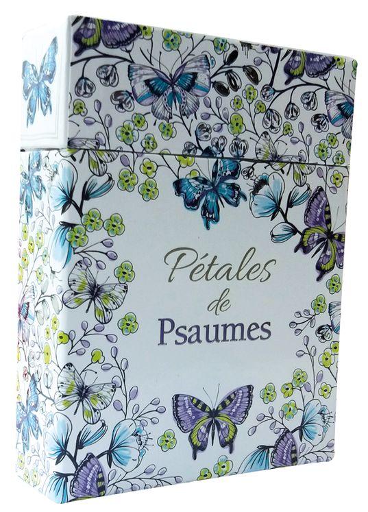 Pétales de Psaumes 44 cartes à colorier