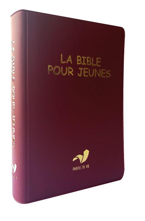 La Bible pour jeunes, vinyle, broché souple - Traduction Parole de Vie