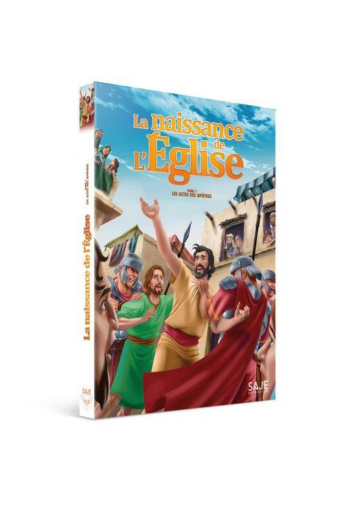 Les actes des apôtres - Tome 1 : La Naissance de l'Eglise - DVD