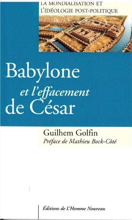 Babylone et l´effacement de César