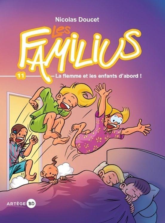 Les familius, la flemme et les enfants d´abord - tome 11