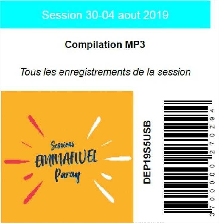 Session 30-04 aout 2019, USB MP3