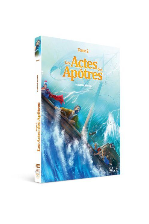 Les Actes des Apôtres - Tome 2 : L'envoi en Mission - DVD
