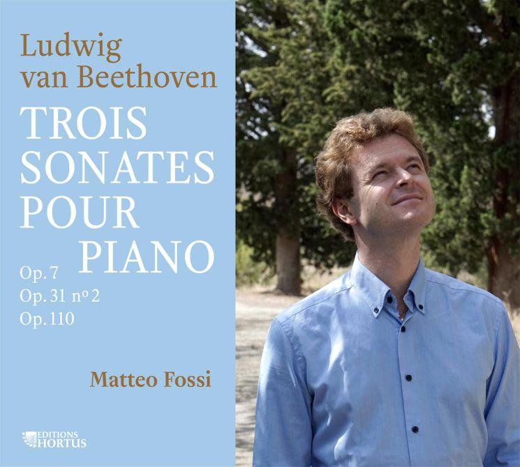 Trois sonates pour piano - CD