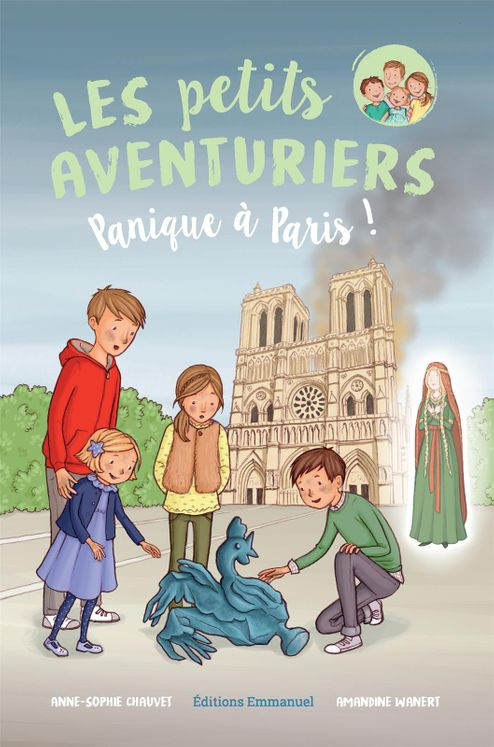 Les petits aventuriers Tome 4 - Panique à Paris