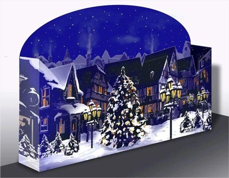 Calendrier de l'Avent en volume - à déployer - Noël approche !