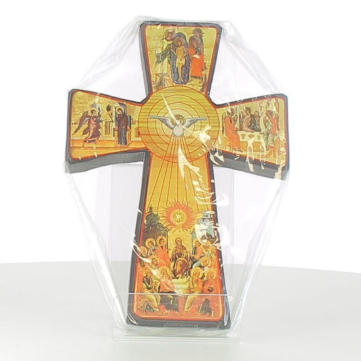 Croix-icône de la Pentecôte 13x21