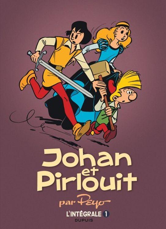 Johan et Pirlouit l´intégrale Tome 1