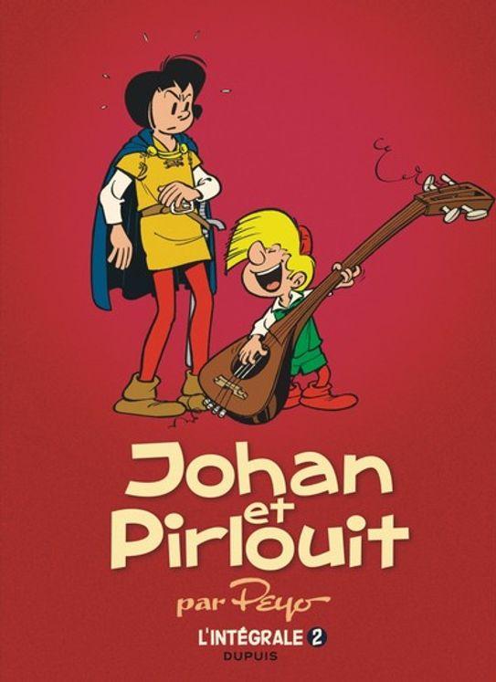 Johan et Pirlouit l´intégrale Tome 2