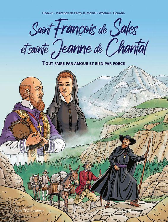 Saint François de Sales et sainte Jeanne de Chantal - BD